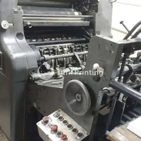 Used Heidelberg 52x72 Offset Printing Press year of 1977 for sale, price 5000 USD, at TurkPrinting in SheetFed Offset Printing Machines