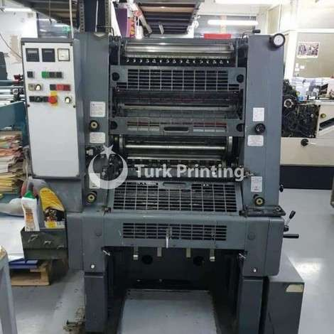 Used Heidelberg GTO year of 1991 for sale, price ask the owner, at TurkPrinting in Used Offset Printing Machines