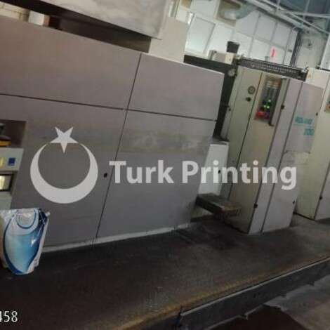 Used Man-Roland 304 NL STRAIGHT offset printing press year of 2000 for sale, price ask the owner, at TurkPrinting in Used Offset Printing Machines