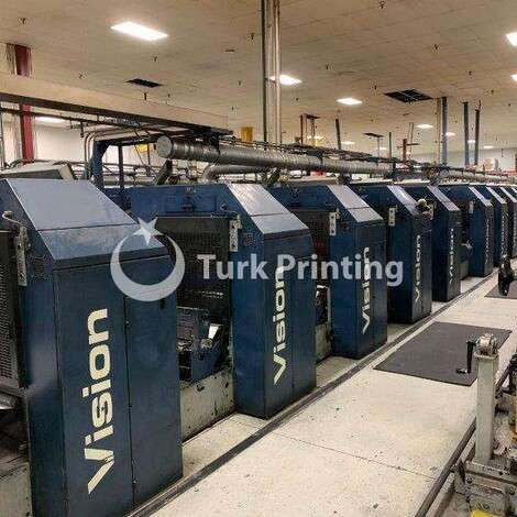 Used Goebel Drent Vision 10 Color UV Press year of 1997 for sale, price ask the owner, at TurkPrinting in Other Web Offset Printing Machines