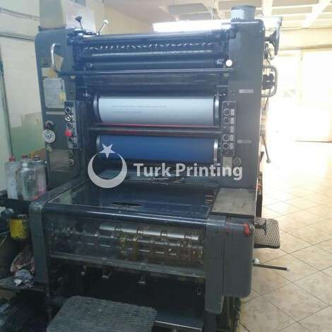 Used Heidelberg 52X74cm Offset Printing Machine year of 1974 for sale, price 5000 EUR, at TurkPrinting in Used Offset Printing Machines