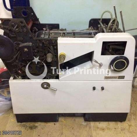 Used Gestetner Numbering Machine year of 2002 for sale, price 8500 TL EXW (Ex-Works), at TurkPrinting in Numbering Perforating Machines