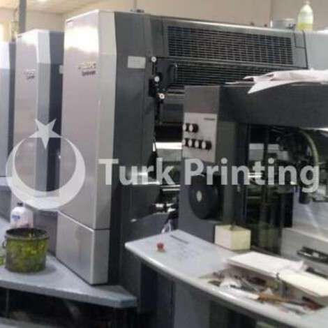 Used Heidelberg CD 102-4 LX Sheetfed offset Printing Press year of 2000 for sale, price 385000 USD C&F (Cost & Freight), at TurkPrinting in Used Offset Printing Machines