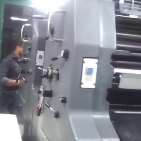 Heidelberg MOZP-S Two Colour Sheetfed Printing Press