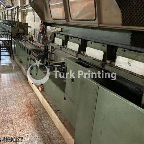 Used Muller Martini Starbinder (three-knife trimmers) year of 1999 for sale, price ask the owner, at TurkPrinting in Perfect Binding Machines