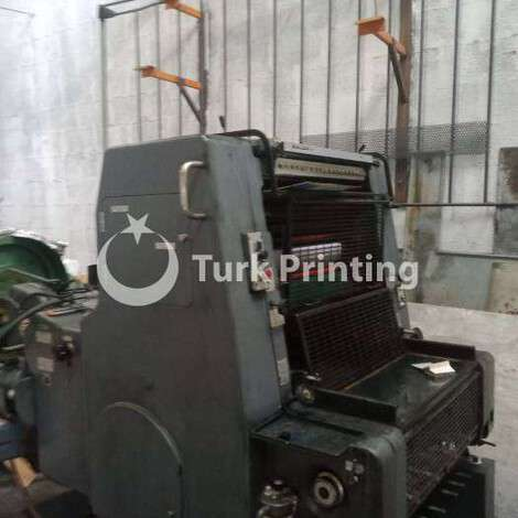 Used Heidelberg MO-E one color offset printing machine year of 1989 for sale, price ask the owner, at TurkPrinting in Used Offset Printing Machines