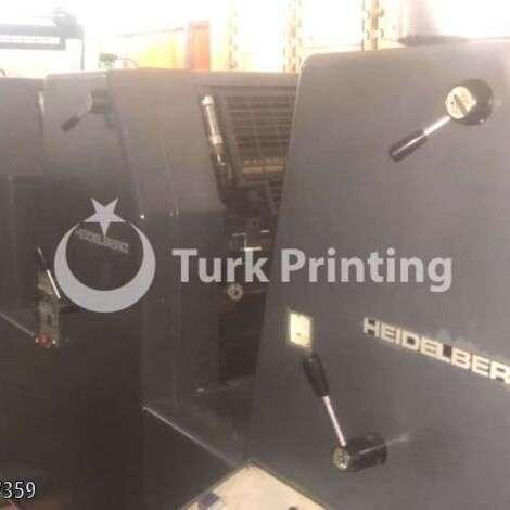 Satılık ikinci el 1991 model Heidelberg GTO 52 -4c Ofset Matbaa Makinesi 52000 USD C&F (Cost & Freight) TürkPrinting'de! Ofset Baskı Makinaları kategorisinde.