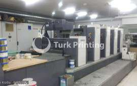 79-H-IV+UV 4 Colour + UVOffset Printing Machine