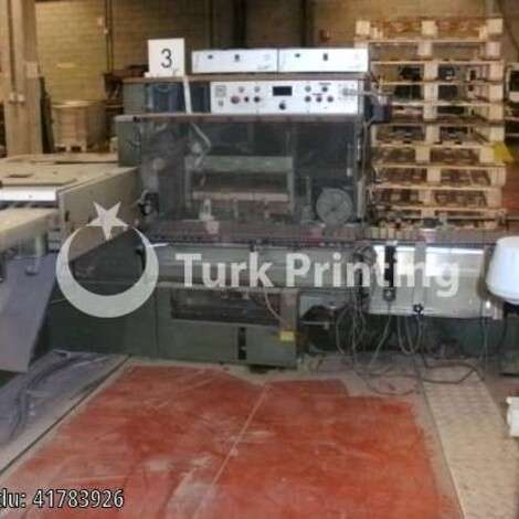 Used Muller Martini 300 saddle stitching line year of 1987 for sale, price ask the owner, at TurkPrinting in Saddle Stitching Machines