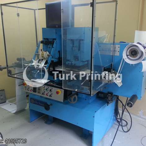 Used Berra S2-250 Hot Foiling Machine roll to roll - ALDO BERRA year of 2013 for sale, price 18000 EUR FOT (Free On Truck), at TurkPrinting in Flexo and Label Printing Machines