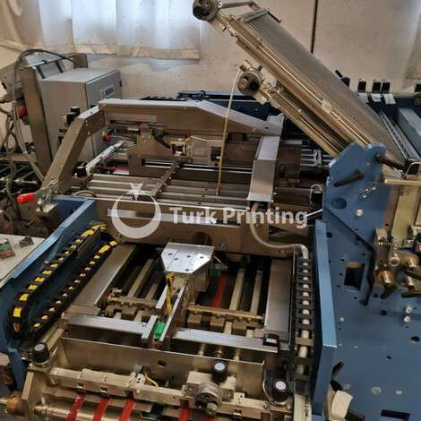 Used MBO model K800.2 SKTL folding machine year of 2006 for sale, price ask the owner, at TurkPrinting in Folding Machines