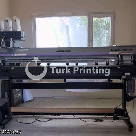Satılık ikinci el 2015 model Mimaki CJV30-160B8 70000 TL TürkPrinting'de! Geniş Format Dijital Baskı Makinaları ve Kesiciler (Plotter) kategorisinde.