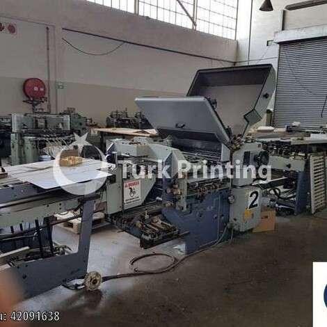 Satılık ikinci el 1990 model Stahl / Heidelberg Stahlfolder KC78 4KZ R-RC Kağıt Katlama Makinesi fiyat sorunuz TürkPrinting'de! Katlama (Kırım) Makinaları kategorisinde.