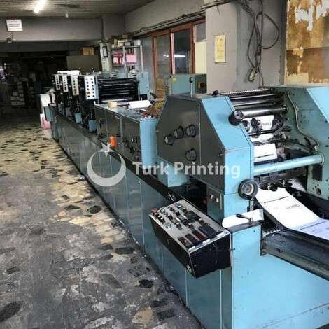 Used Edelmann V-38 4 COLOUR MACHINE IN ISTANBUL year of 1988 for sale, price 5000 EUR FOT (Free On Truck), at TurkPrinting in Continuous Form Printing Machines