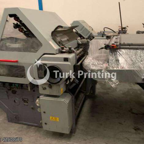Used Heidelberg Stahlfolder KCU 78/4.2F year of 1995 for sale, price ask the owner, at TurkPrinting in Folding Machines