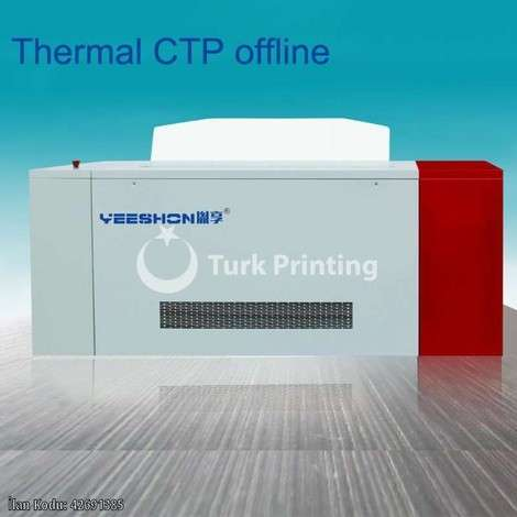 New Yeeshon Offline Thermal CTP Printing Machinery with 32 Laser Channels year of 2019 for sale, price ask the owner, at TurkPrinting in CTP Systems