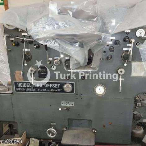Used Heidelberg SORD/Z year of 1974 for sale, price ask the owner, at TurkPrinting in Used Offset Printing Machines