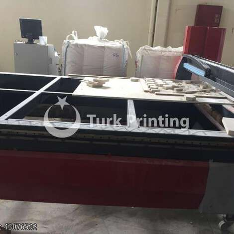 Used Pro CNC Router 220x280 cm CNC Router year of 2019 for sale, price 40000 TL CIF (Cost Insurance Freight), at TurkPrinting in CNC Router