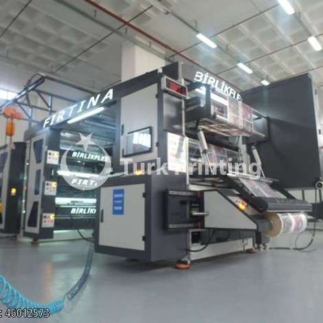 New BirlikFlex 6 COLOR 130 CM FLEXO PRINTING MACHINE year of 2018 for sale, price 230000 EUR EXW (Ex-Works), at TurkPrinting in Flexo and Label Printing Machines