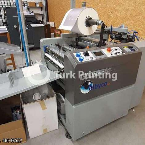 Used Komfi Amiga automatic compact laminator 52 A (B2) year of 2003 for sale, price ask the owner, at TurkPrinting in Laminating - Coating Machines