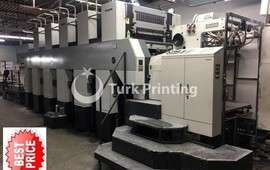 JPrint 5P532 10 color 5/5 2-sided offset printing press