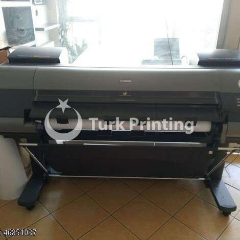 Used Canon Océ IPF8300 PHOTO PLOTTER year of 2012 for sale, price 10000 TL, at TurkPrinting in Large Format Digital Printers and Cutters (Plotter)