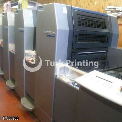 Used Heidelberg HD SM 52-4 year CX kit year of 2005 for sale, price ask the owner, at TurkPrinting in Used Offset Printing Machines
