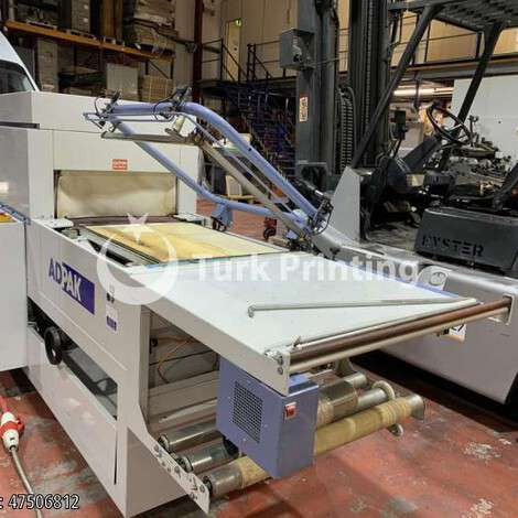 Used Adpak SP 6830 PCA year of 1996 for sale, price ask the owner, at TurkPrinting in Shrink Wrap Machine