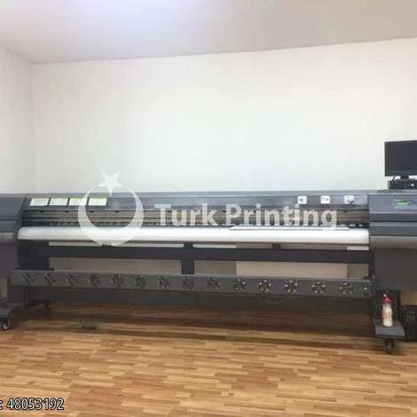 Used Icontek 320 SEIKO 510 35 PL OUTDOOR DIGITAL PRINTING MACHINE year of 2011 for sale, price 23500 TL EXW (Ex-Works), at TurkPrinting in Large Format Digital Printers and Cutters (Plotter)