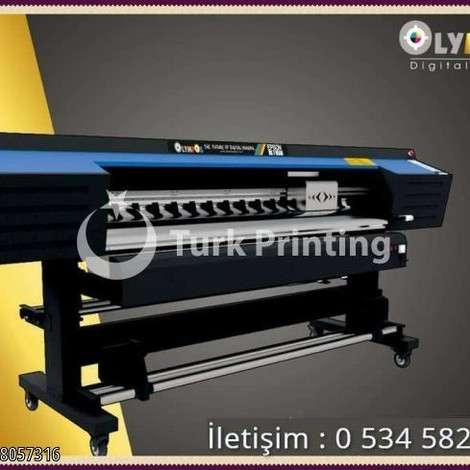 New Olympos Digital Printing Machine year of 2019 for sale, price 9500 USD EXW (Ex-Works), at TurkPrinting in Large Format Digital Printers and Cutters (Plotter)