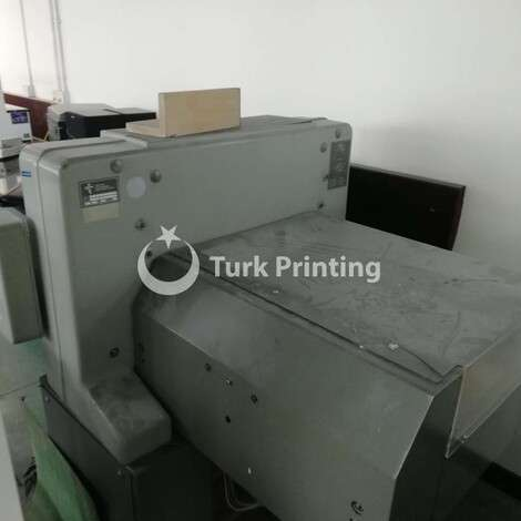 Used Polar 55 EM Paper Cutter year of 1988 for sale, price ask the owner, at TurkPrinting in Paper Cutters - Guillotines