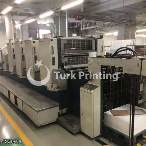 Used Komori 4+1 Offset Printing Machine year of 1999 for sale, price 180000 EUR EXW (Ex-Works), at TurkPrinting in Used Offset Printing Machines