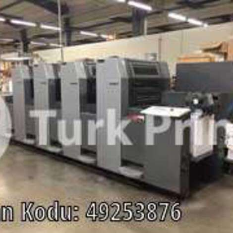 Used Heidelberg SM 52-4-H Offset Printing Press year of 2003 for sale, price ask the owner, at TurkPrinting in Used Offset Printing Machines