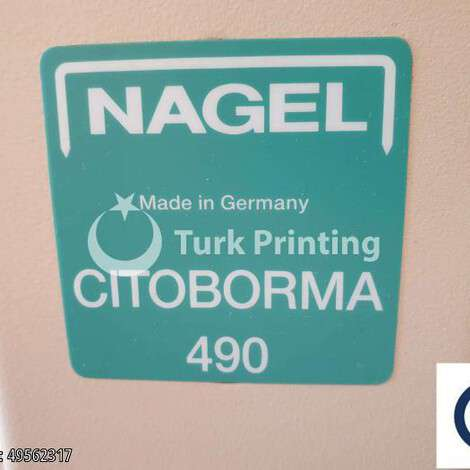 Used Nagel Citoborma 490 year of 2003 for sale, price ask the owner, at TurkPrinting in Paper Drilling Machines