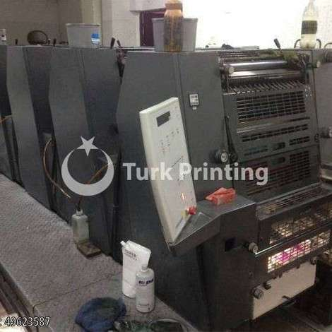 Used Heidelberg GTO 52-5 Offset Printing Press, 2001 year of 2001 for sale, price ask the owner, at TurkPrinting in Used Offset Printing Machines