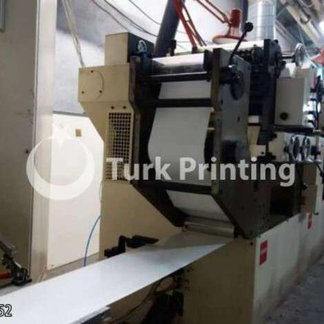Used Nilpeter B 200 letterpress year of 2000 for sale, price 33000 EUR FOT (Free On Truck), at TurkPrinting in Flexo and Label Printing Machines