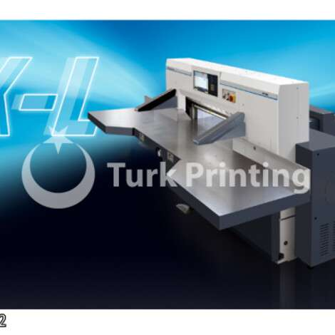 New Guowang K115 PAPER GUILLOTINE year of 2021 for sale, price ask the owner, at TurkPrinting in Paper Cutters - Guillotines