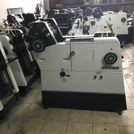 Used overhaul Gestetner 311 1 color offset printing machines for sale. 311 GESTETNER OFFSET 1 COLOR REVİZED.