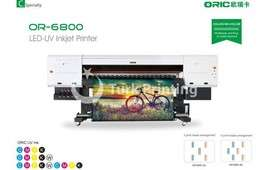 OR-6800 1.8m UV Roll To Roll Printer With Five/Six Industrial Print Heads