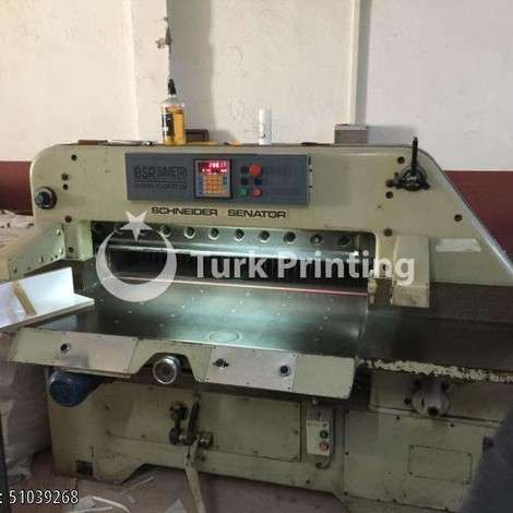 Used Schneider Senator 115 Full Program year of 1980 for sale, price ask the owner, at TurkPrinting in Paper Cutters - Guillotines