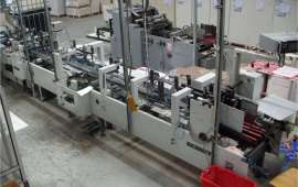 Media 68 Folding Gluing Machine