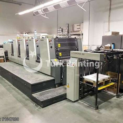 Used Komori Lithrone 428 Offset Printing Press year of 2005 for sale, price 145000 EUR FCA (Free Carrier), at TurkPrinting in Used Offset Printing Machines