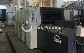 304 4 Renk Ofset Baskı Makinesi
