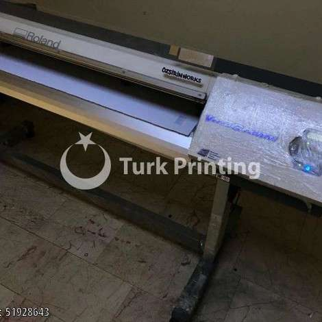 Used Roland DG SP 540i Digital Printing Machine year of 2015 for sale, price ask the owner, at TurkPrinting in Large Format Digital Printers and Cutters (Plotter)