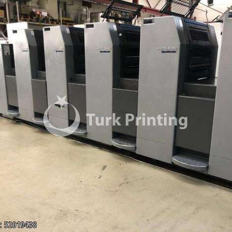 Used Heidelberg SM 52-5P + LX Offset Printing Machine year of 2004 for sale, price 150000 EUR FOT (Free On Truck), at TurkPrinting in Used Offset Printing Machines
