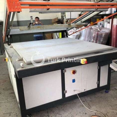 Used Arus Semi Automatic Screen Printing Machine year of 2014 for sale, price ask the owner, at TurkPrinting in Screen Printing Machines