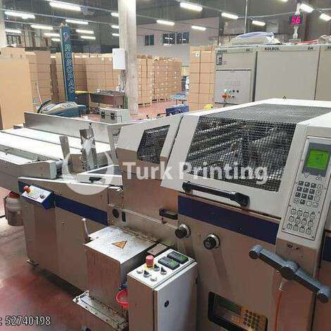 Used Kolbus DA 270 Casemaker year of 2009 for sale, price ask the owner, at TurkPrinting in Case-Binding
