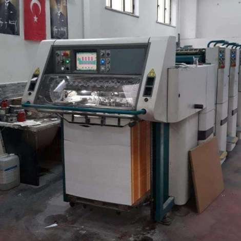 Used Adast/Polly Prestige 474 4 Color Offset Printing Press year of 2004 for sale, price 470000 TL EXW (Ex-Works), at TurkPrinting in Used Offset Printing Machines