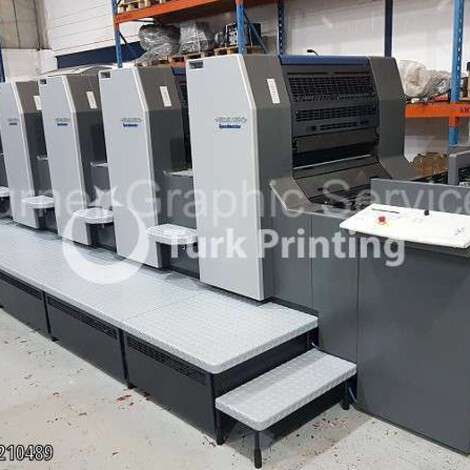 Used Heidelberg SM74-5 Five Colors Offset Printing Machine year of 2001 for sale, price ask the owner, at TurkPrinting in Used Offset Printing Machines