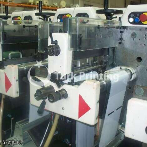Used Nilpeter FA2 500 Series 8 Color Labels printing machine year of 2002 for sale, price ask the owner, at TurkPrinting in Flexo and Label Printing Machines